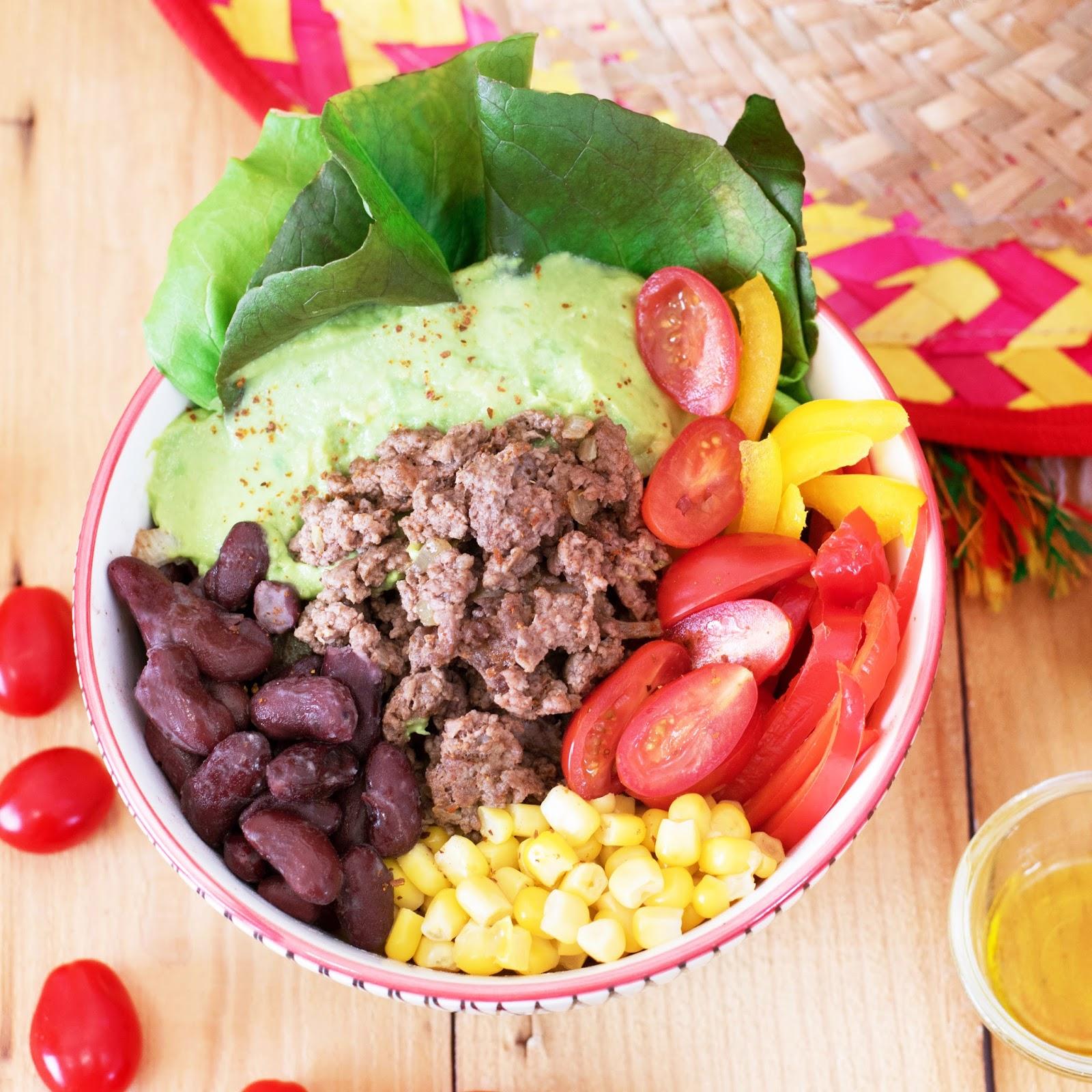 recette Salade healthy façon chili
