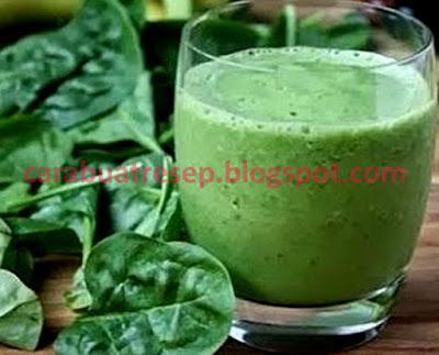 Foto Resep Jus Bayam Untuk Diet Cepat dan Diet Sehat