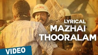 Mazhai Thooralam Song with Lyrics _ Sethupathi _ Vijay Sethupathi _ Nivas K Prasanna