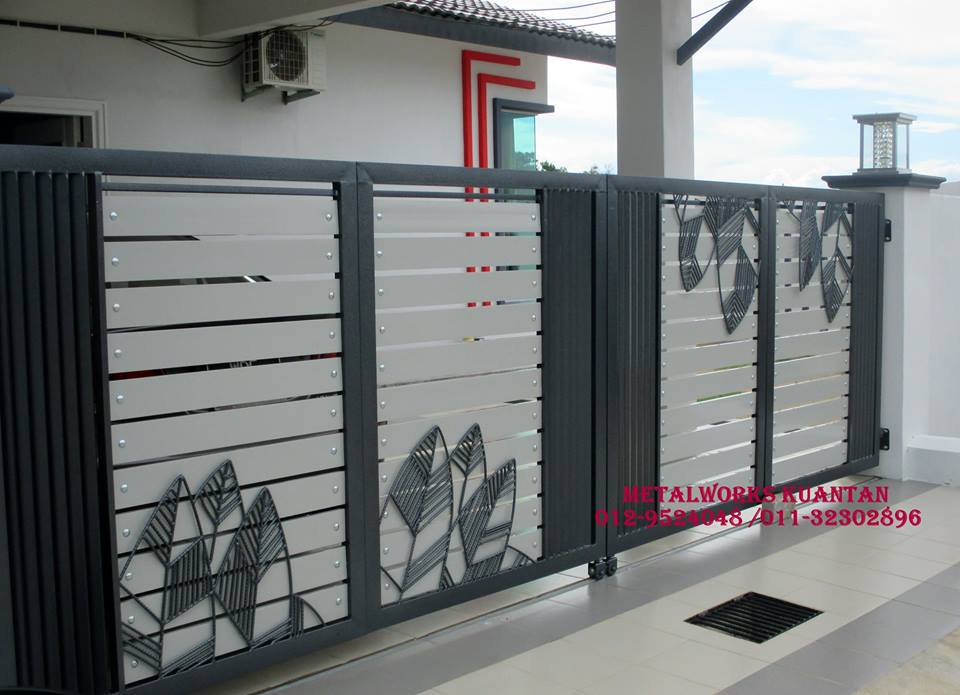 27 Populer Desain Pagar Rumah Aluminium Pagar Rumah