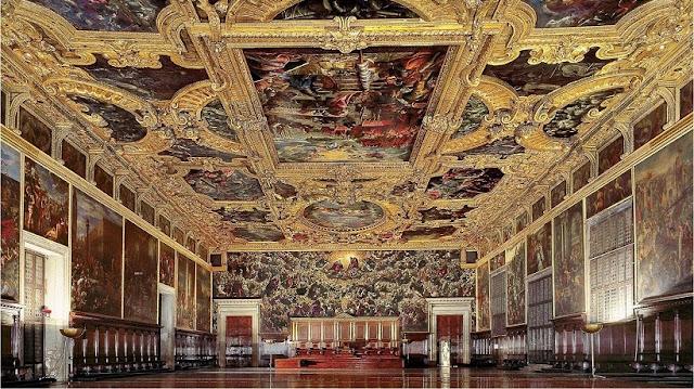 Sobre o Palácio Ducal em Veneza