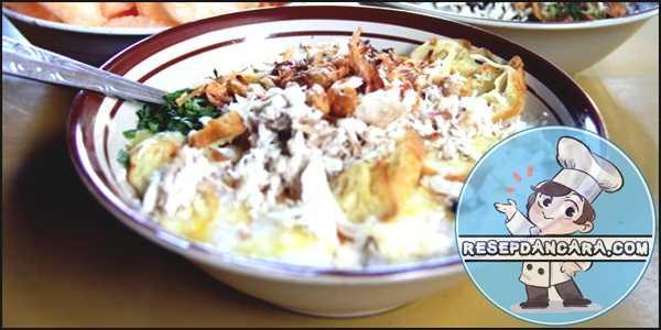 Resep dan Cara Membuat Bubur Ayam Spesial Khas Bandung