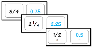 Classroom Freebies: Fraction and Decimal Bingo