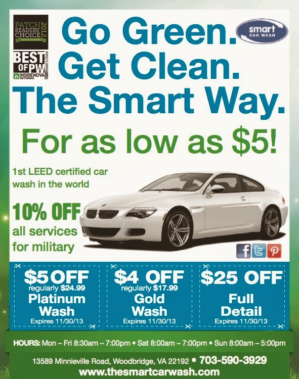 Prince William County Moms: Giveaway: The Smart Car Wash