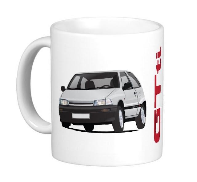 Daihatsu Charade GTti coffee mug classic