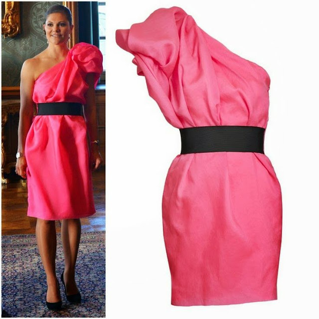 Crown Princess Victoria in Lanvin For H&M