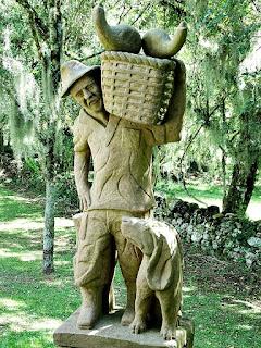 Bauer (Agricultor), Profissões dos Imigrantes Alemães no Parque Pedras do Silêncio, Nova Petrópolis
