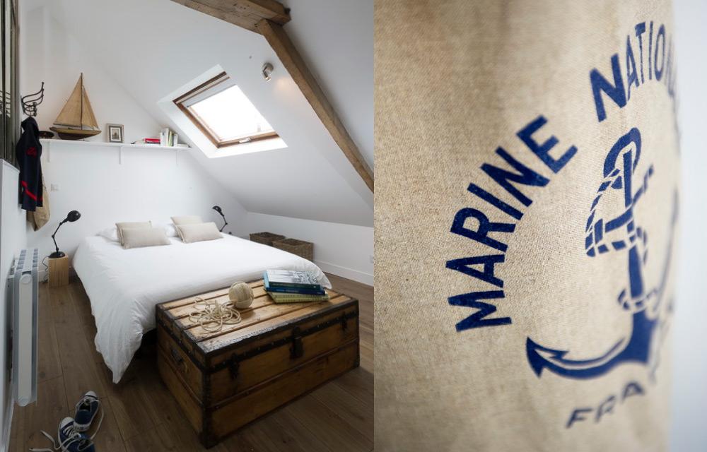 Un mini loft in stile marinaro | Blog di arredamento e interni ...