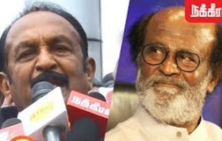 Vaiko on Rajinikanth's Political Entry