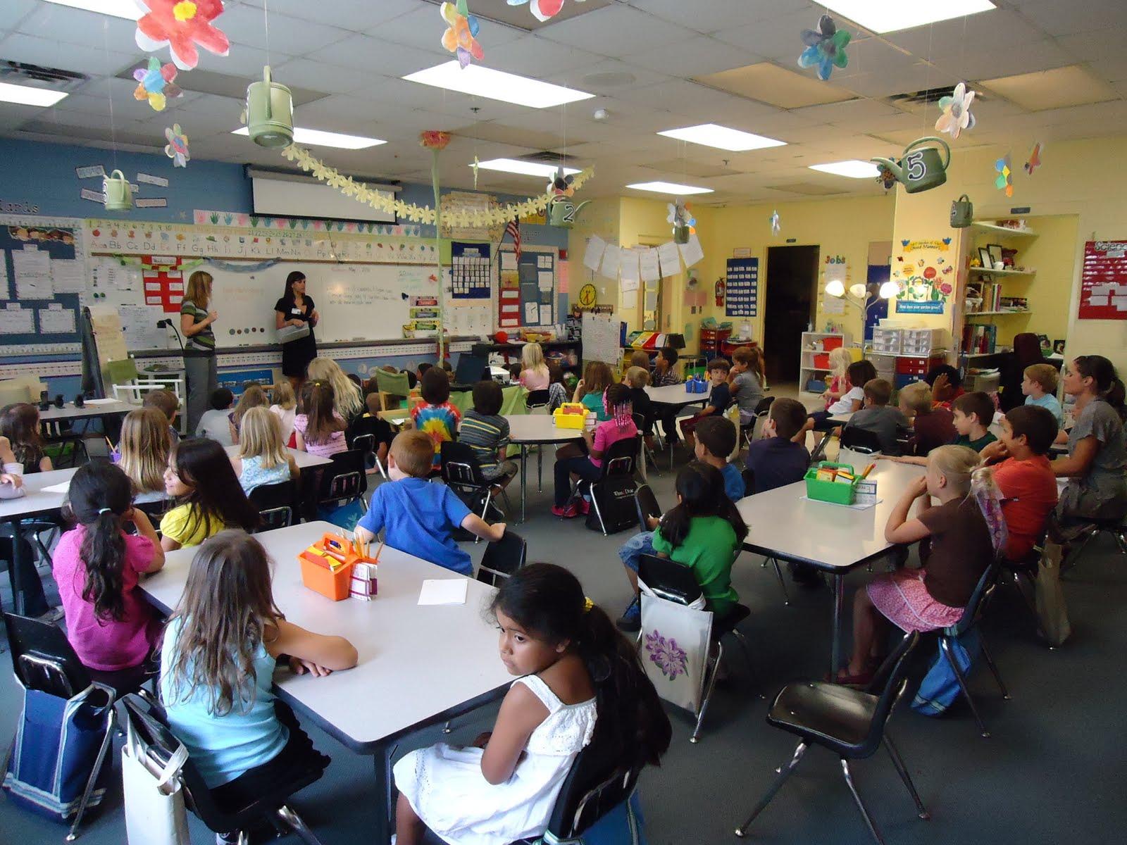 Kindergarten Classroom: Miss Anair And Mrs. Parker's Kindergarten Class: The