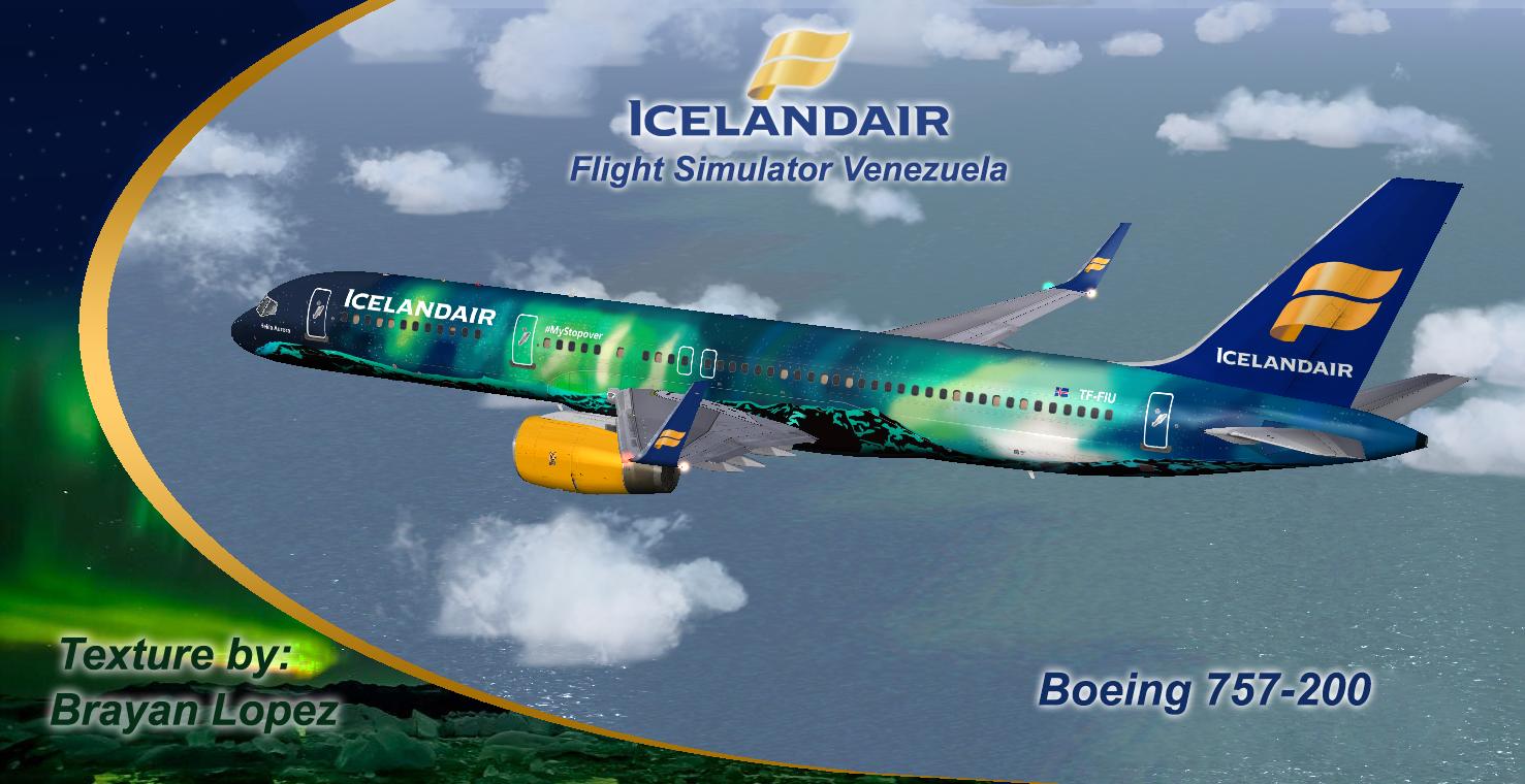 Boeing 757-200 Icelandair TF-FIU