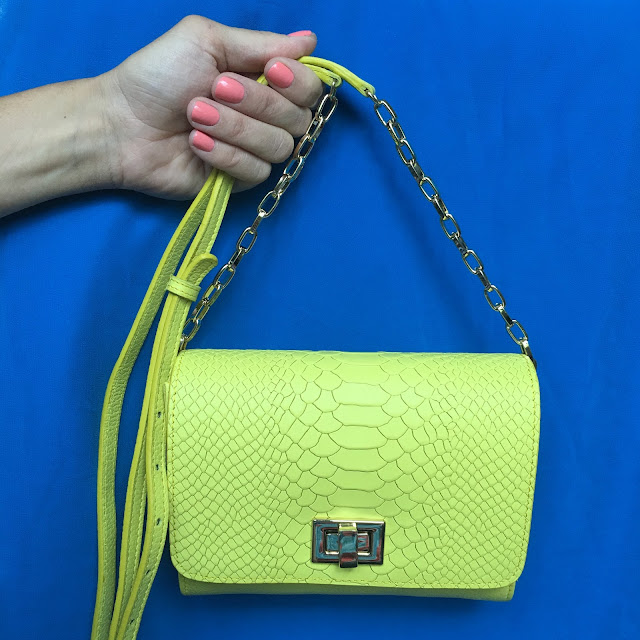 GiGi New York Neon Crossbody Catie