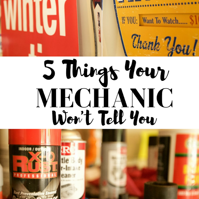 5 Things Your Mechanic Won't Tell You