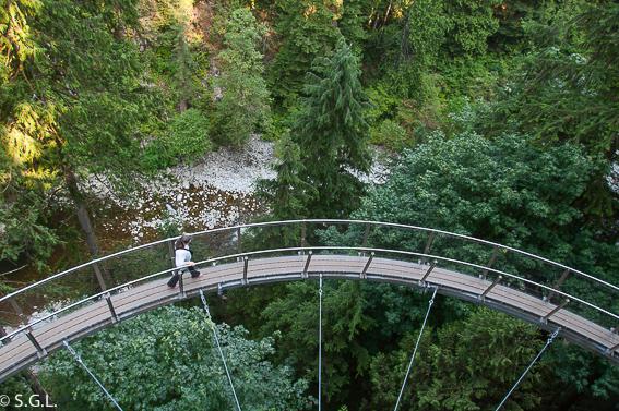 Cliffwalk en Capilano Park