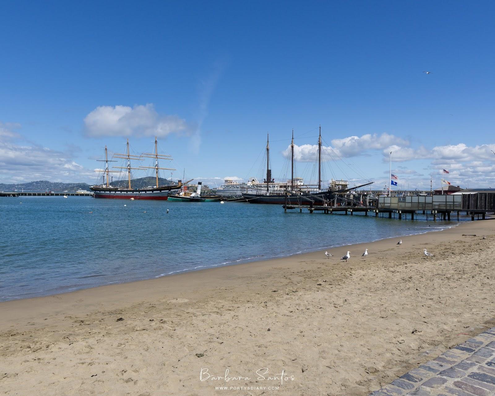 Beach at Maritime National Historical Park - Travel - A week in San Francisco.