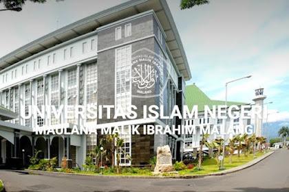 Jurusan UMPTKIN UIN Malang (Maulana Malik Ibrahim Malang)