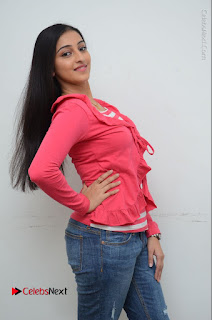 Telugu Actress Mouryani Latest Pos in Blue Denim Jeans  0022.JPG