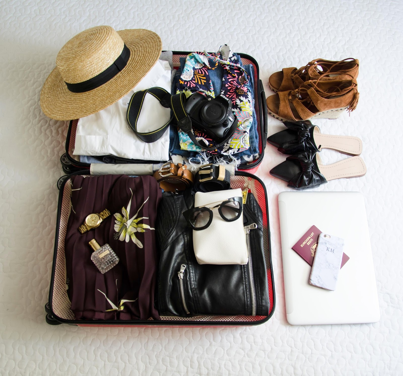packing list for summer trip