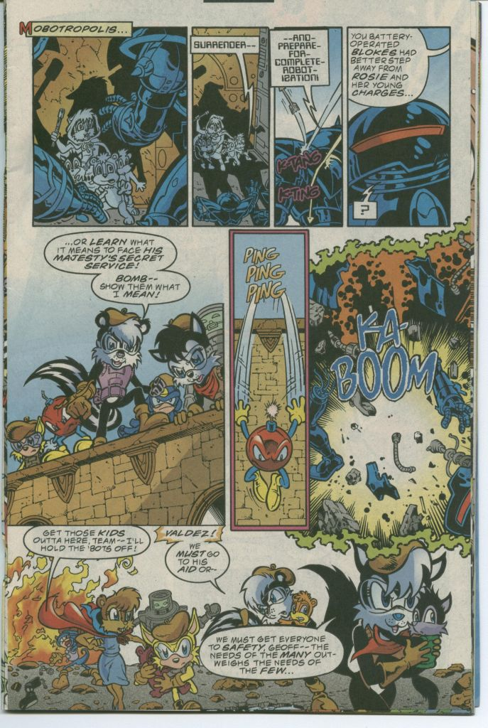 Read online Sonic The Hedgehog comic -  Issue #75 - 21