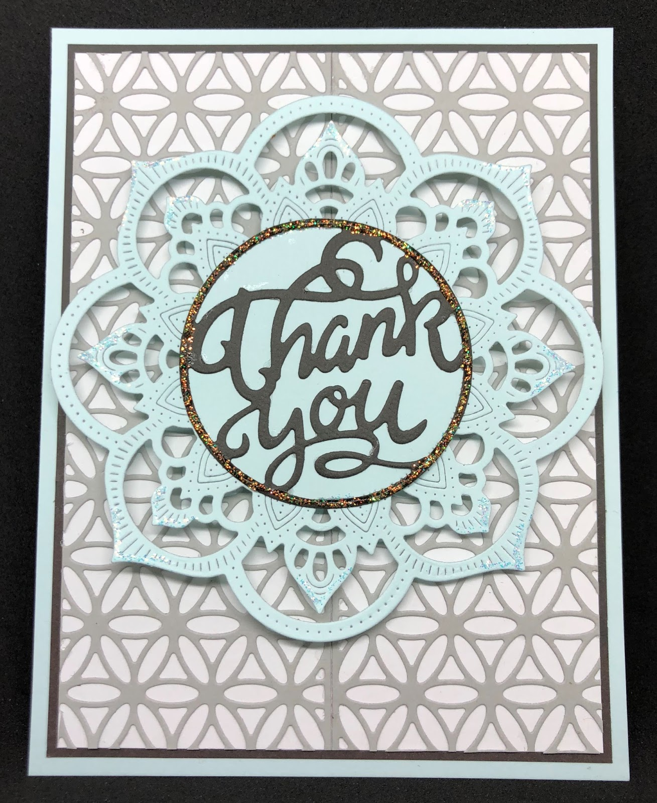 Hi Crafty Friends Welcome To The Blog Today Im Back With Another Card I Made Using Only Three Dies Create This Background Used Margarita Border