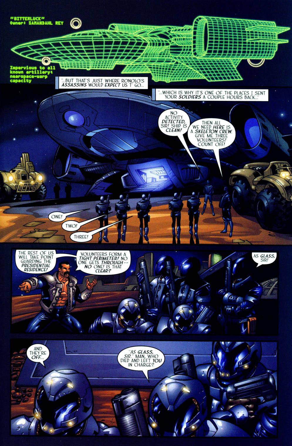 Read online Sigil (2000) comic -  Issue #12 - 7