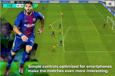 Download PES 2018 for Android Mod Apk+Data