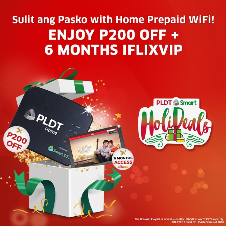 PLDT Home Outs Christmas Holideals