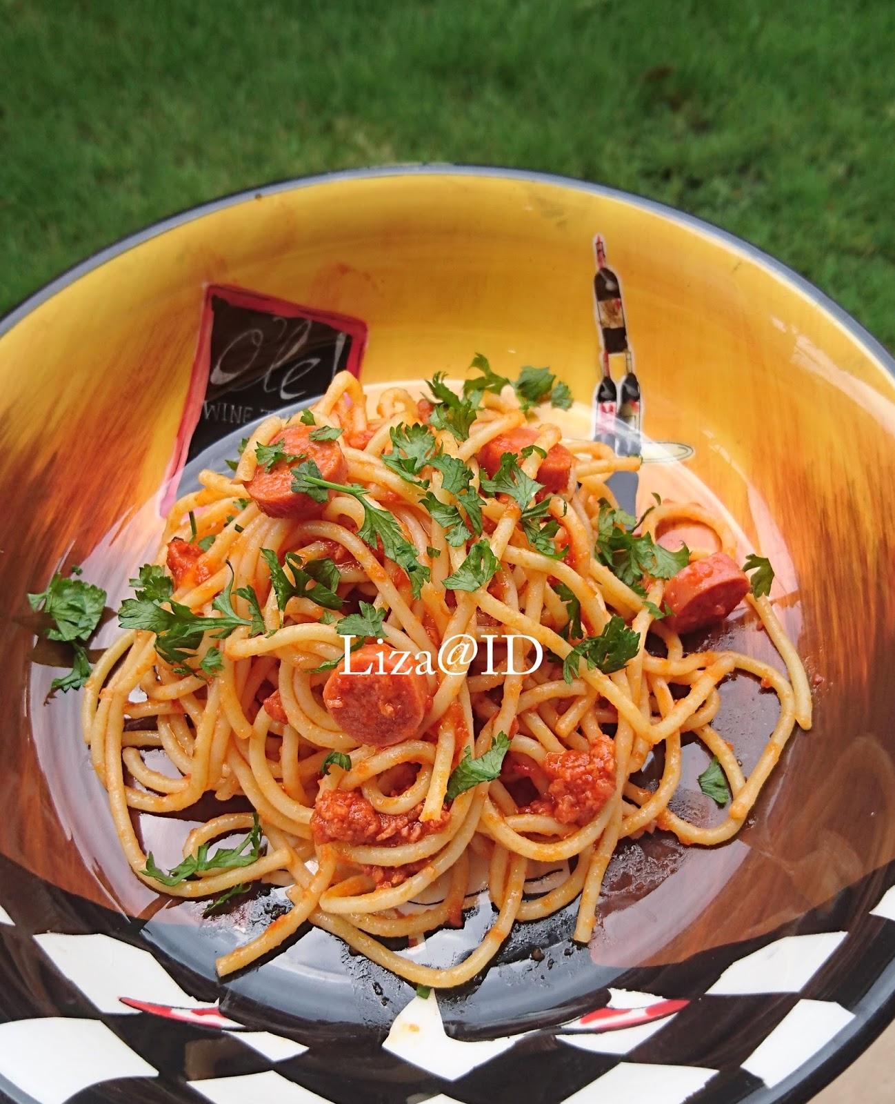 Intai Dapur Spaghetti Bolognese My Style