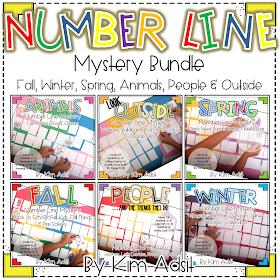 https://www.teacherspayteachers.com/Product/Number-Line-Mystery-Bundle-by-Kim-Adsit-3364211
