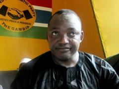 51-year-old candidate Adama Barrow said he was standing down as a member of the main opposition United Democratic Party (UDP) so that he could represent the broad coalition that nominated him in December's presidential election vote.
