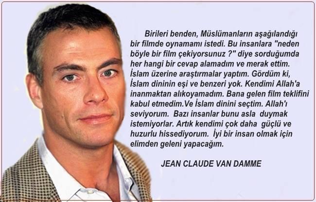 Jean Claude Van Damme, müslüman, kan sporu, sokak dövüşü, aslan yürek, ikiz kan, zor hedef, evrenin askerleri, cellat, çöl ateşi, çöl kaplanı, kickboxer