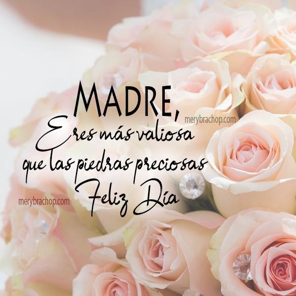 imagen con poema para madre, poemas cortos frases para mama, rosas, flores, mery bracho