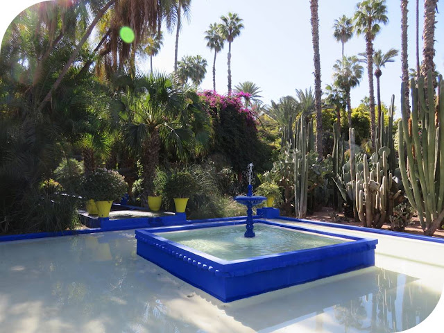 Long Weekend in Marrakech - Sidewalk Safari - Jardin Marjorelle