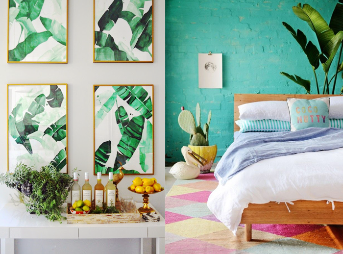 HOW TO: TROPICAL INTERIORS