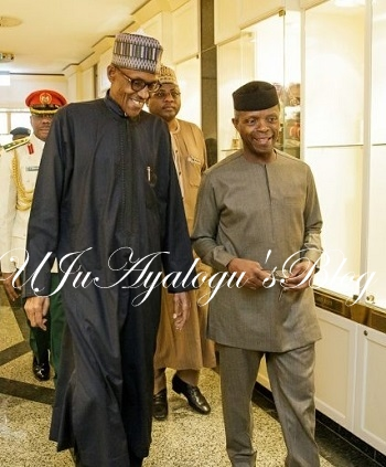 THE UNTOLD: Why Osinbajo Actually Rushes To UK To See President Buhari