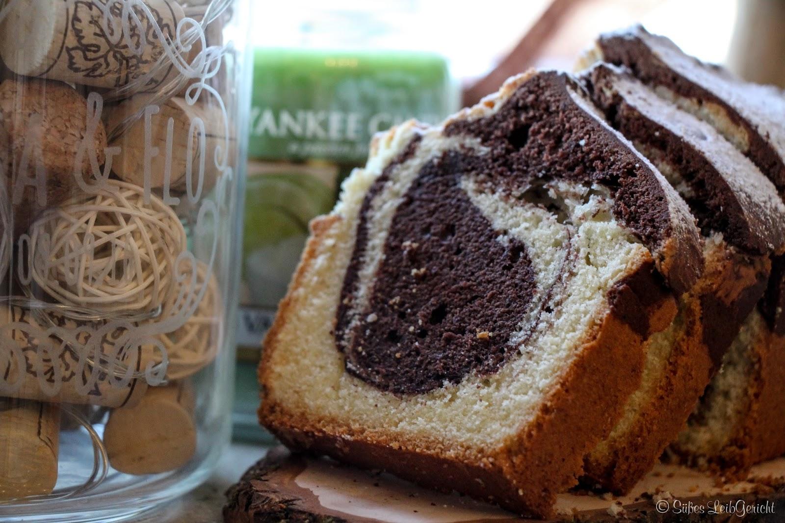 Susses Leibgericht Marmorkuchen Klassisch
