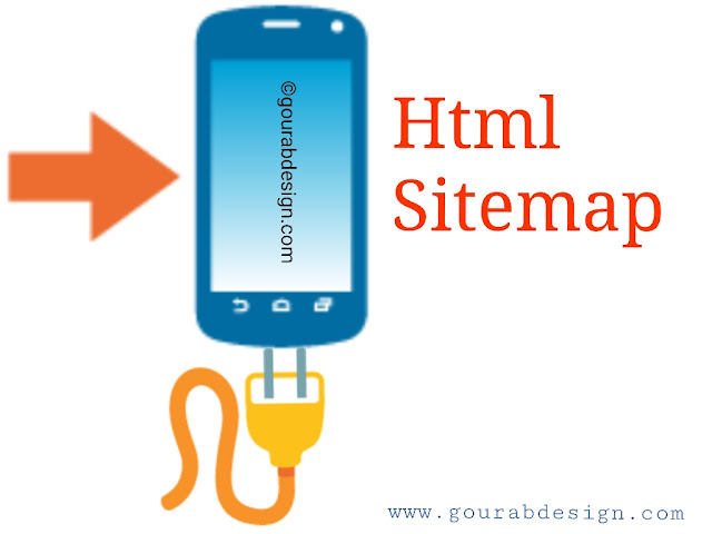 add html sitemap widget in blogspot blog