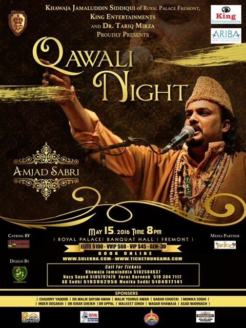 Amjad Sabri Night 2016