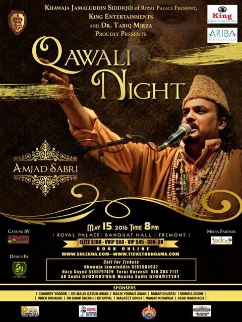 Amjad Sabri Night 2016