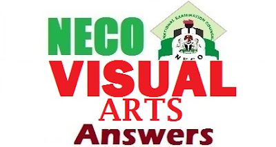 Complete NECO Visual Art Answer Expo 2017 | OBJ and Theory Answers