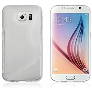Galaxy s6 Case, Galaxy s6 Cases- Compatible With Samsung Galaxy s6 SIV S IV i9600 - Soft Shell Cover Skin Cases By Cable and Case - Clear
