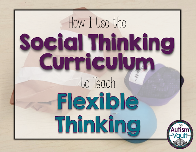 Do you struggle with teaching your students how to be flexible thinkers?  Check out how I use the Superflex curriculum to teach about flexible thinking. - The Autism Vault
