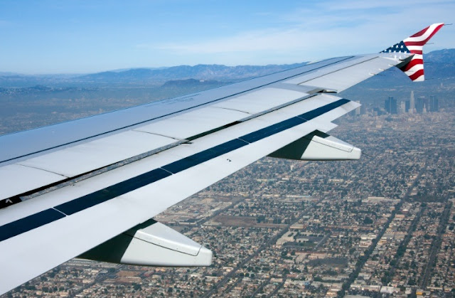 Tempo de voo até Los Angeles