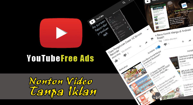 Download YouTube Apk Ad-Free Black Theme Android