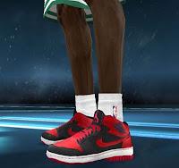 online store 697b4 ffd27 NBA 2K12 Nike Air Jordan 1 Shoes Patch