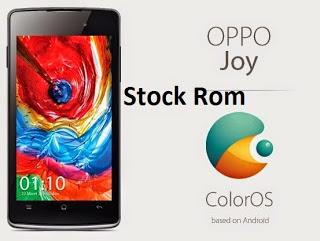 Stock Rom Oppo Joy R1001 Terbaik dan Terbaru