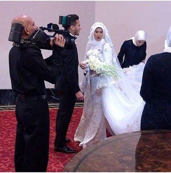 زفاف رمضان صبحي