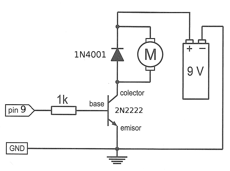 Proyectos De Tecnologia Manejo De Motores De Corriente Continua Con Arduino
