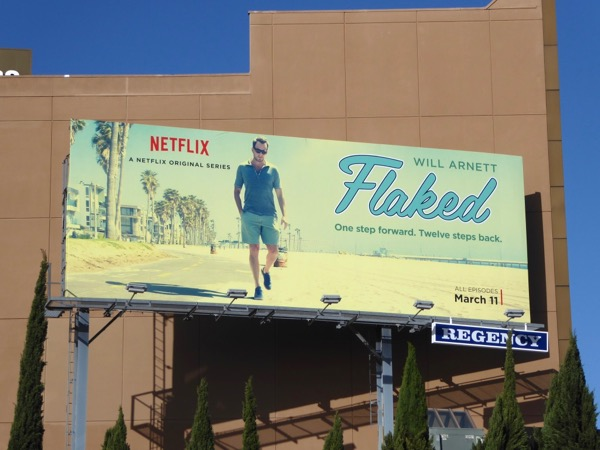 Flaked season 1 billboard