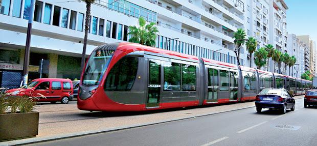 Casablanca lance les travaux des nouveaux tramway